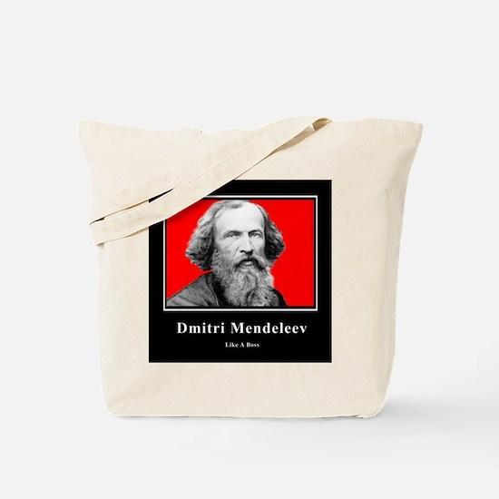 Mendeleev Like A Boss Tote Bag