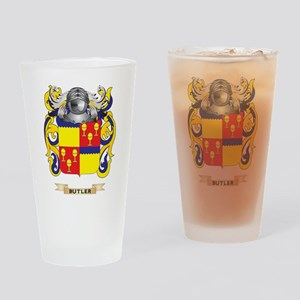 Butler Coat of Arms Drinking Glass