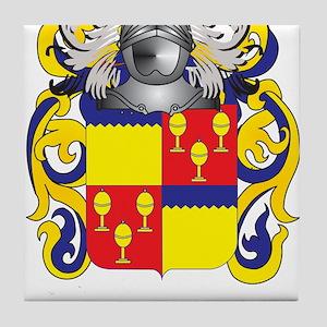 Butler Coat of Arms Tile Coaster