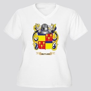 Butler Coat of Arms Plus Size T-Shirt