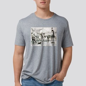 In and out of condition - 1877 Mens Tri-blend T-Sh