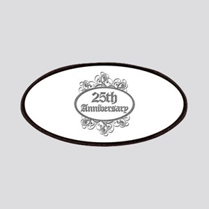 25th Wedding Aniversary (Engraved) Patches