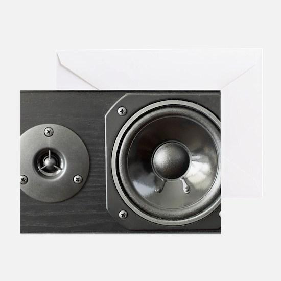 Speaker look a like art Greeting Card
