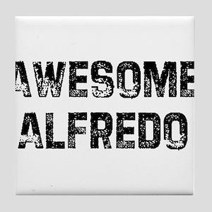 Awesome Alfredo Tile Coaster