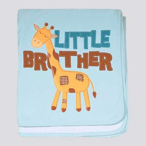 Little Bro Giraffe baby blanket