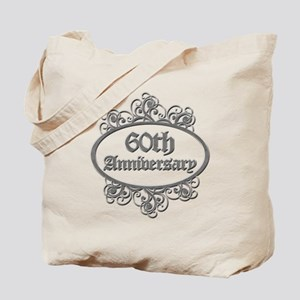 60th Wedding Aniversary (Engraved) Tote Bag