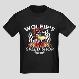 Wolfie's Speed Shop Kids Dark T-Shirt