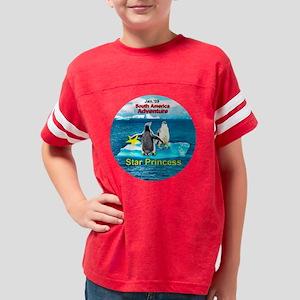 South America adventure STAR  Youth Football Shirt