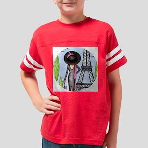 EifelTowerFashionRound Youth Football Shirt