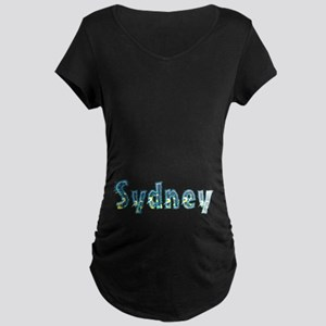 Sydney Under Sea Maternity Dark T-Shirt