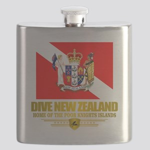 Dive New Zealand Flask