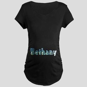 Bethany Under Sea Maternity Dark T-Shirt