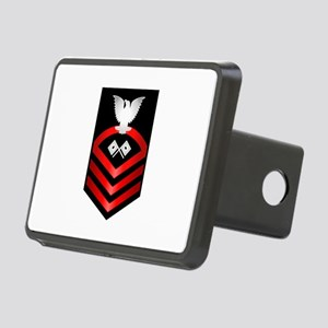 Navy Chief Signalman Rectangular Hitch Cover