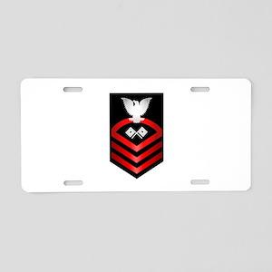 Navy Chief Signalman Aluminum License Plate