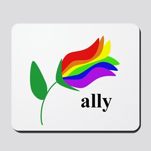 ally flower Mousepad
