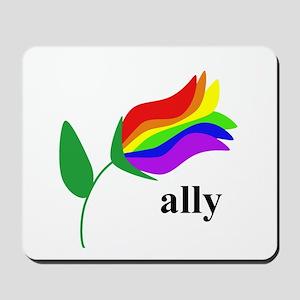 ally flower Mousepad