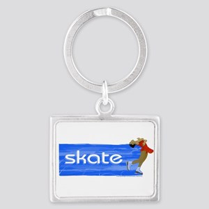 Figure Skating Skate Layback Spin Keychain