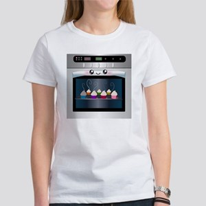 Cute oven and cupcakes Women's T-Shirt