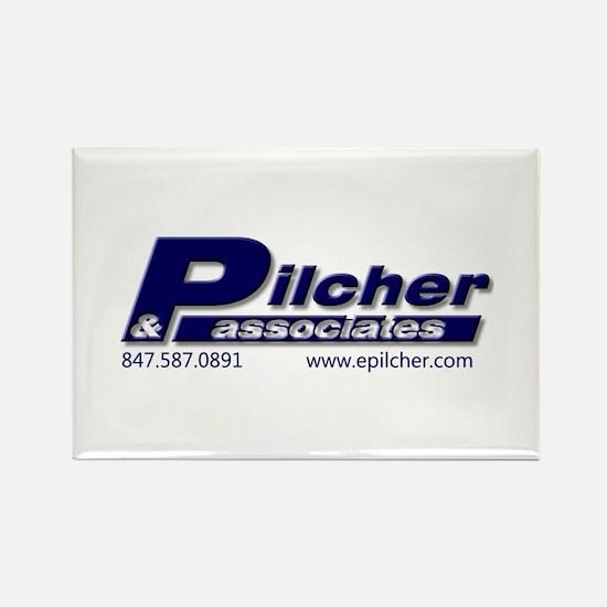 Pilcher & Associates Rectangle Magnet