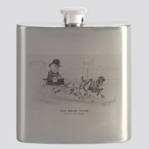 The Boss team! Deadwood and Swiggler - 1882 Flask