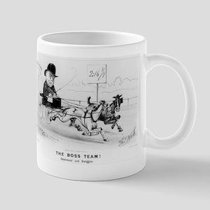 The Boss team! Deadwood and Swiggler - 1882 11 oz