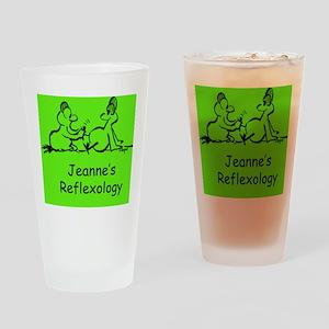 Jeannes Reflexology Drinking Glass