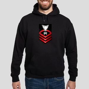 Navy Chief Storekeeper Hoodie (dark)