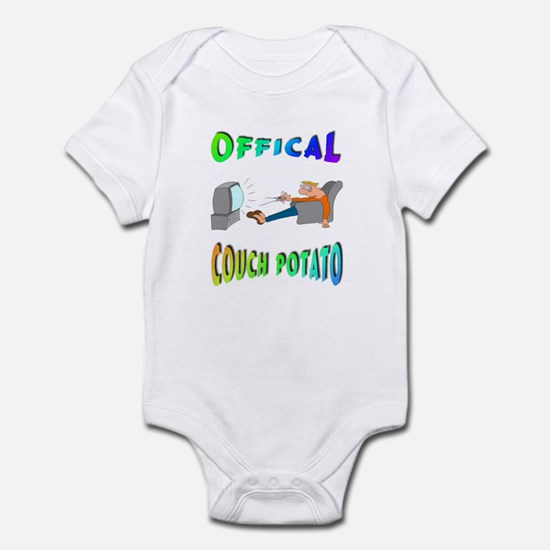 OFFICAL COUCH POTATO! Infant Bodysuit