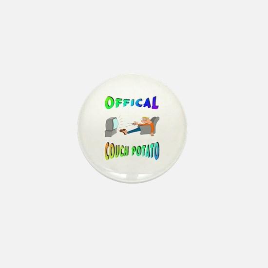OFFICAL COUCH POTATO! Mini Button