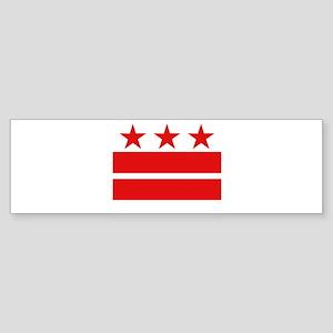 3 Stars 2 Bars Sticker (Bumper)