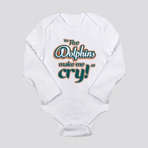 The Dolphins make me cry Body Suit
