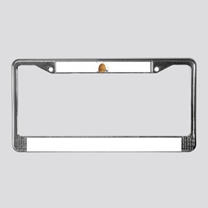 Beehive License Plate Frame