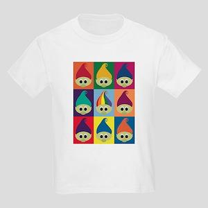 Troll Block 3x3 Rainbow Kids Light T-Shirt