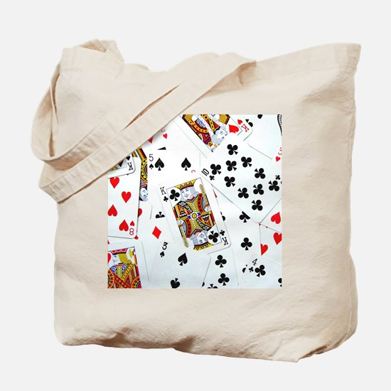 Spread out game cards Tote Bag