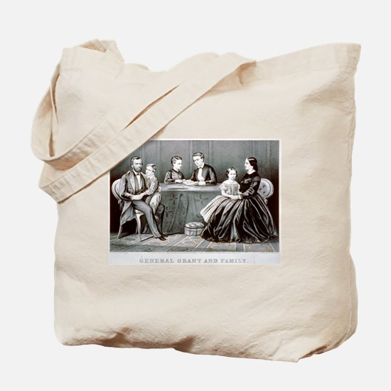 General Grant and family - 1867 Tote Bag