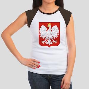 Polish Eagle Women's Cap Sleeve T-Shirt
