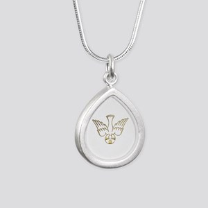 Golden Descent of The Holy Spirit Symbol Silver Te