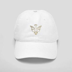 Golden Descent of The Holy Spirit Symbol Cap