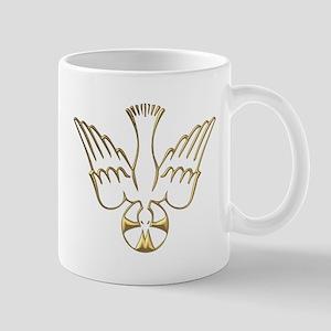 Golden Descent of The Holy Spirit Symbol Mug