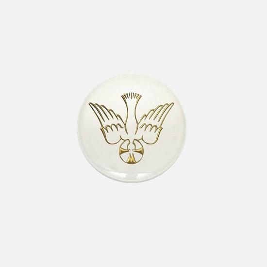 Golden Descent of The Holy Spirit Symbol Mini Butt