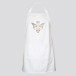 Golden Descent of The Holy Spirit Symbol Apron