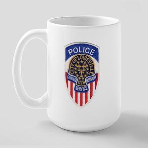 Louisville Police Large Mug