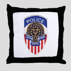 Louisville Police Throw Pillow