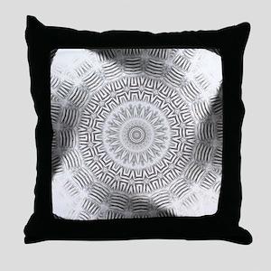 Metal Element kaleido pattern Throw Pillow