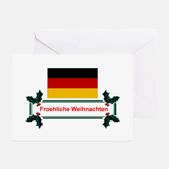 German Froehliche... Greeting Cards (Pk of 10)