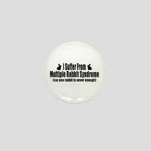 Multiple Rabbit Syndrome Mini Button
