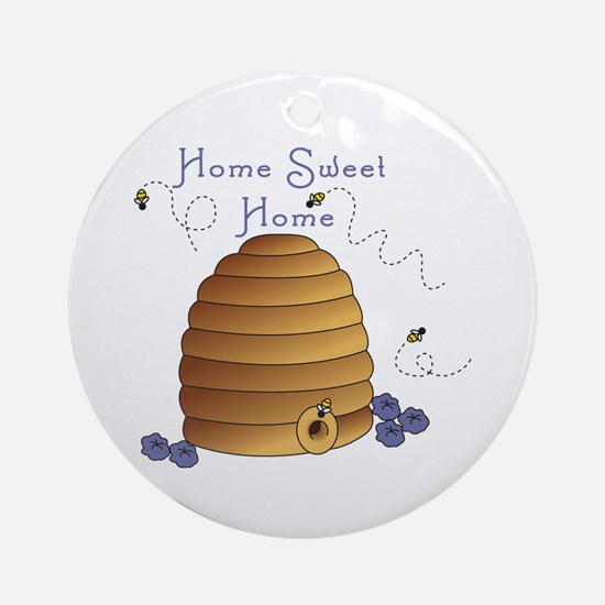Home Sweet Home Ornament (Round)