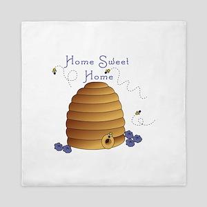 Home Sweet Home Queen Duvet
