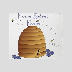 Home Sweet Home Throw Blanket