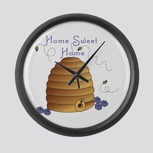Home Sweet Home Large Wall Clock